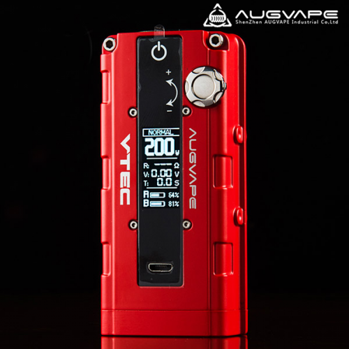 [Augvape] VTEC 200w Inspired Box Mod [正規品]