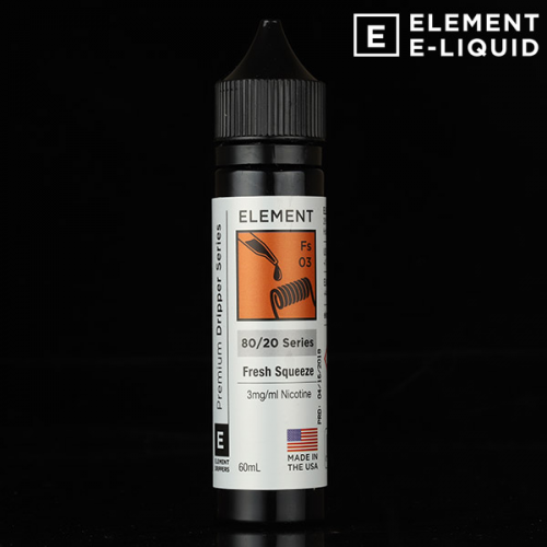 アメリカ[TONIX by ELEMENT] blood orange 大人気Eリキッド high VG 30ml