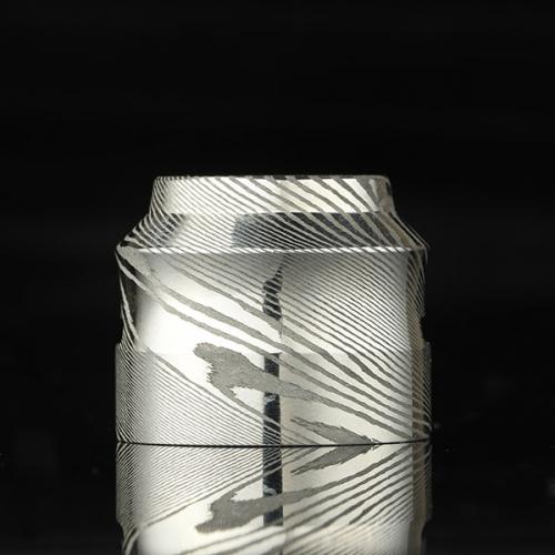 Customize damascus steel 528custom Cap