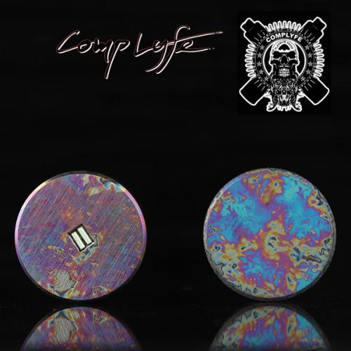 [Comp Lyfe] Anodized Titanium Disc [正規品]