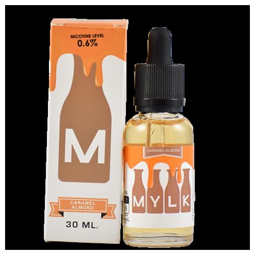 アメリカ【Brewell】Mylkシリーズ Caramel Almond 30mL