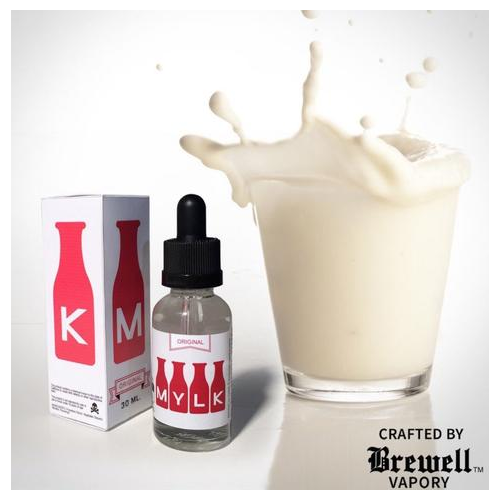 Brewell Vapory 海外人気リキッドMYLK バナナ ミルク ニコチン入り 容量30ml