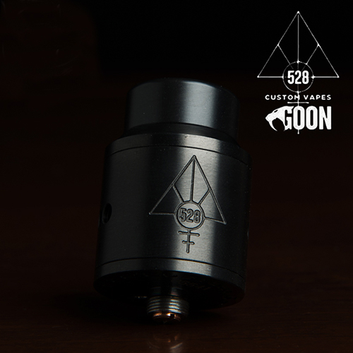 【528 Custom Vapes】Goon RDA 24mm RDA アトマイザー