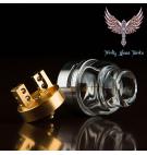 [Trinity Glass Tanks]U.S.1 Atty Pyrex Glass RDA [正規品]